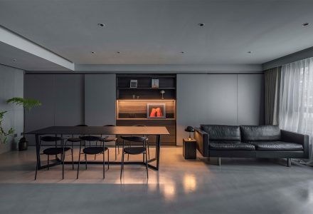 """北京·""""和平村""""私人平层住宅设计"""