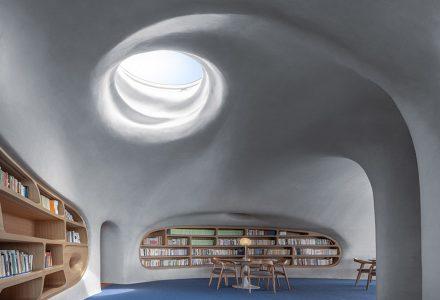 """海口·""""云洞""""图书馆设计 / MAD"""