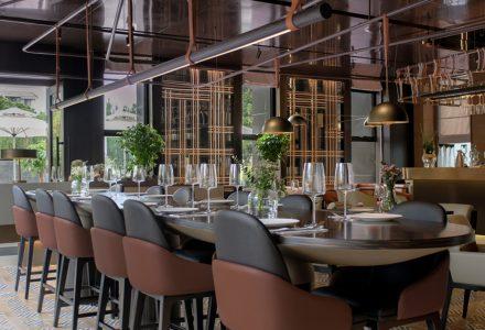 """上海·""""L'Aromate悦未""""西餐厅设计 / 如莫Roomoo"""