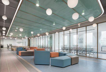 """上海·""""艾为电子""""西子国际办公空间设计 / 时象"""
