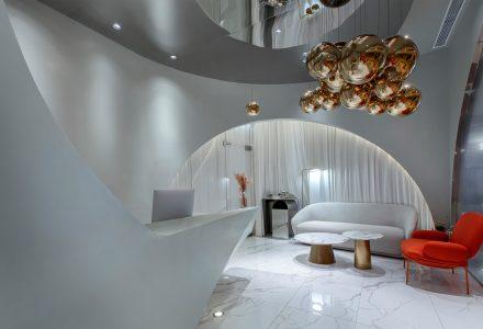 """上海·""""CICI纤美""""体验店设计 / Towodesign"""
