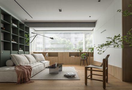 """广州·""""农林上路""""住宅改造设计 / 傅俣迪"""