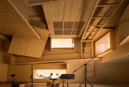 广州·梅兰音乐小型交响乐录音棚设计 / DOMANI东仓