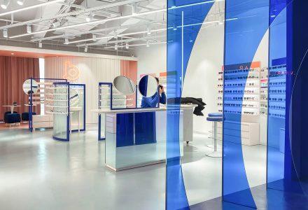 杭州·BLUEMO眼镜店设计 / ICD